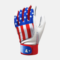USA American Flag Batting Gloves