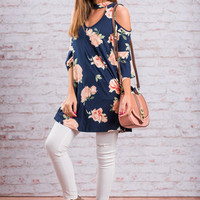 Buying Time Top, Navy