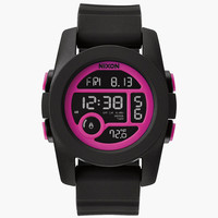 Nixon Unit 40 Watch Black Combo One Size For Women 25998714901