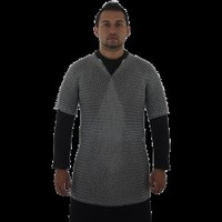 55 Inch Butted Chainmail Shirt - AB3932 by Medieval Collectibles