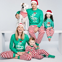 Family PajamasElfing Around Pajama Sets, Created for Macy's