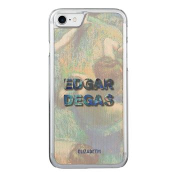 Edgar Degas French Impressionist Blue Dancers Carved iPhone 7 Case
