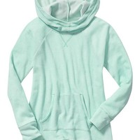 Old Navy Girls Waffle Knit Pullover Hoodies