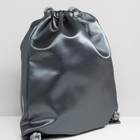 Boopacks | Boopacks Metallic Drawstring Backpack at ASOS
