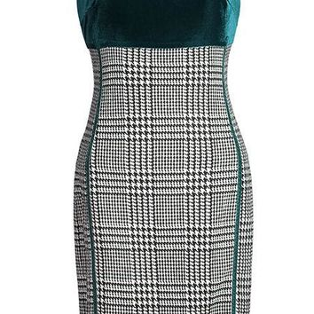 1950's Inspired Wiggle Dress