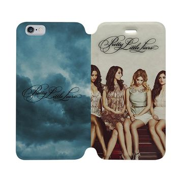 PRETTY LITTLE LIARS Wallet Case for iPhone 4/4S 5/5S/SE 5C 6/6S Plus Samsung Galaxy S4 S5 S6 Edge Note 3 4 5