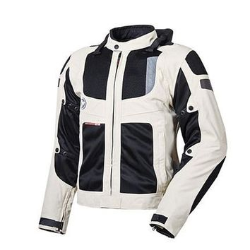 Men's Motorcycle Jacket Summer Motorcycle Racing Jackets Breathable Full Body Protective Gear Cosplay Costume