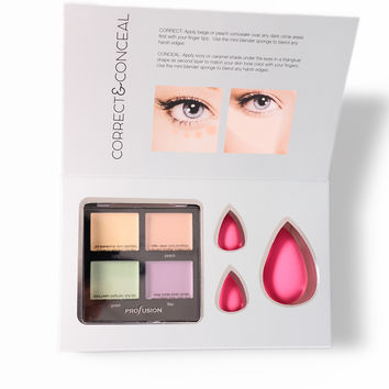 Profusion Cosmetics: Correct & Conceal Kit - Multi