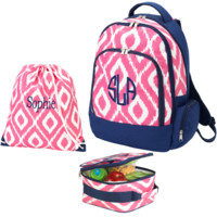 Back to School Combo backpack, lunch bag and gym bag