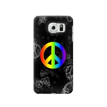 P2356 Peace Sign Phone Case For Samsung Galaxy S6 edge
