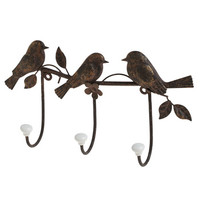 ModCloth Dorm Decor Tree Little Birdies Wall Hook