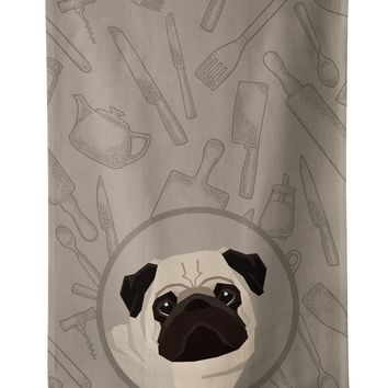 Pug In the Kitchen Kitchen Towel CK2204KTWL