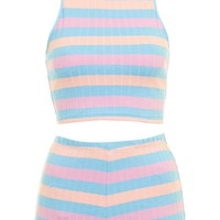 Striped Pyjama Set - Topshop