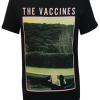 Mens Swimming Pool T-Shirt (Black) | The official webstore for The Vaccines