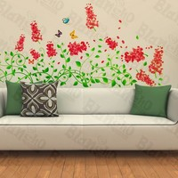 Vivid Spring Flowerlet - Wall Decals Stickers Appliques Home Decor