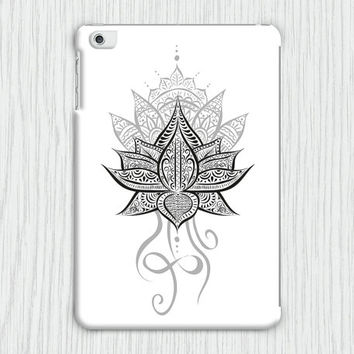 Lotus Flower Mandala iPad Mini 1 / iPad Air 1 Tablet Clip on Case Cover