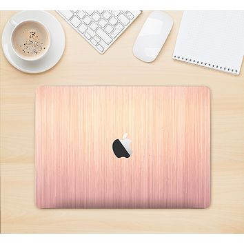"The Rose Gold Brushed Surface Skin Kit for the 12"" Apple MacBook"