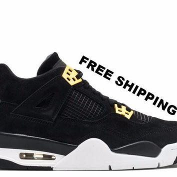 free shipping air jordan 4 retro royalty basketball sneaker 408452 032