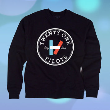 Twenty One Pilots Stay Alive sweatshirt unisex adult
