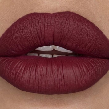 SALE - Tie Me Up - Deep Berry Red - Moisturizing Liquid Matte Lipstick