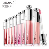 BAIMISS Waterproof Lip Glaze Balm Liquid Tint Color Lasting Protection Lipstick Makeup Cosmetics Beauty Essentials 8 Color
