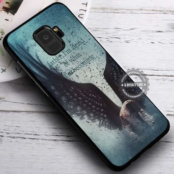I'm Afraid Castiel Quote Supernatural iPhone X 8 7 Plus 6s Cases Samsung Galaxy S9 S8 Plus S7 edge NOTE 8 Covers #SamsungS9 #iphoneX