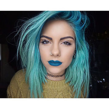 Lime Crime Lipstick in Peacock