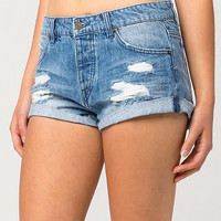 VOLCOM Stoned Womens Denim Shorts | Shorts