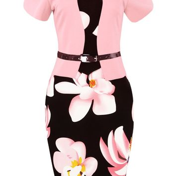 Chicloth Love Stoned Work Day Pencil Dress