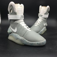 "Nike Air Mag ""BACK TO THE FUTURE"" 417744 001 jetstream white-pl blue"