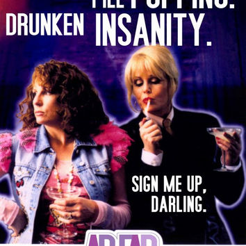 Absolutely Fabulous 27x40 TV Poster