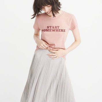 Womens Statement Tee | Womens New Arrivals | Abercrombie.com