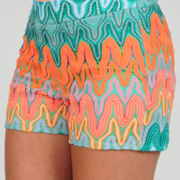 Judith March: Rising And Shining Shorts: Multi