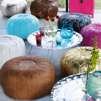 Moroccan Pouffes Cover