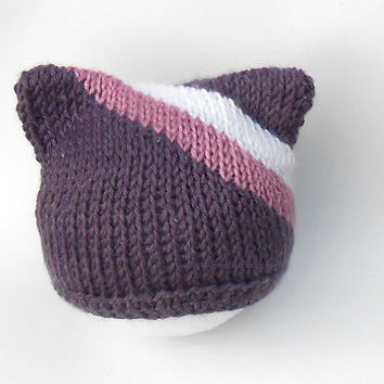 Cute toddler Girls Cat Ears Hat
