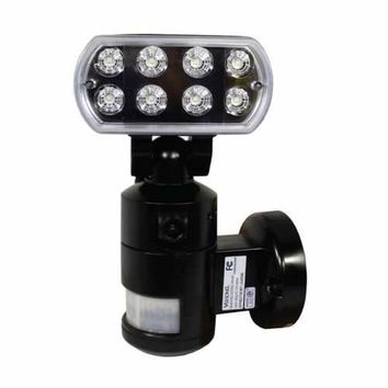 Nightwatcher Robotic Security LED Motion Lighting Camera BLACK