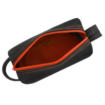 Copy of Dopp Kit Orange Made of Recycled Tires