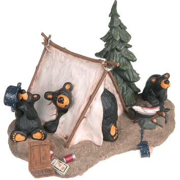Camp Runamuck Bear Figurine
