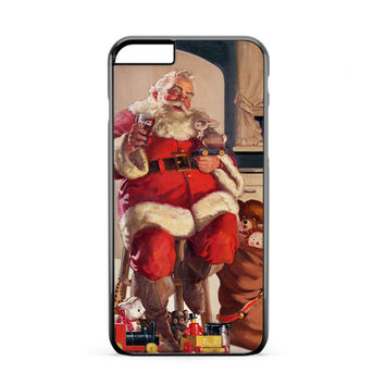 Santa Coke iPhone 6 Plus Case