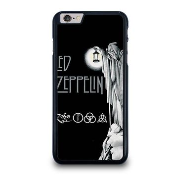 led zeppelin darkness iphone 6 6s plus case cover  number 1