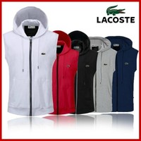 LACOSTE POLOLIED OUTDOOR SPORTS HOODIE COAT JACKETS