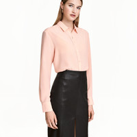 Silk Blouse - from H&M