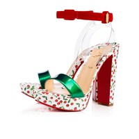 Cherrysandal 140 Multicolor Leather - Women Shoes - Christian Louboutin