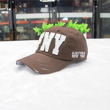 2016 new brand fashion baseball cap Men outdoor sports Hiphop caps women AFNY summer hat sun hat Free shipping Touca gorros