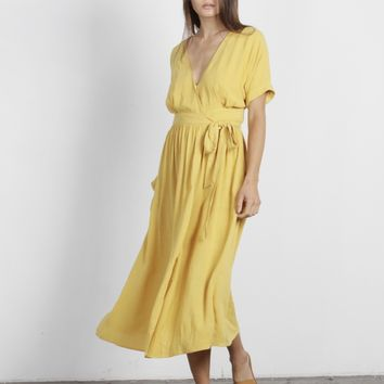 Lenora Wrap Dress