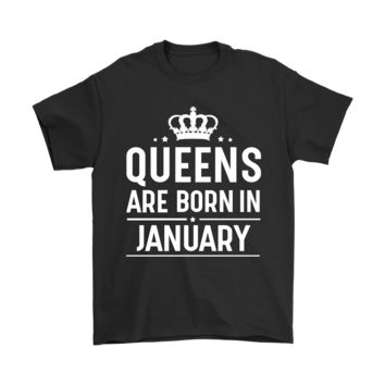 ESBCV3 Queens Are Born In January Shirts