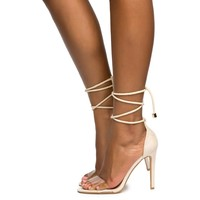 Cape Robbin Drew-37 Nude Women's High Heel