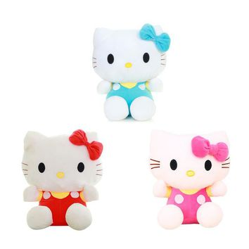 "1pcs 8"" 20CM  Hello Kitty Cats, plush toys for children kids baby toy,lively lovely doll hello kitty toy (3color for choice)"