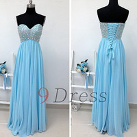 New Sweetheart Beaded Long Prom Dress Bridesmaid Dress Hot Party Dress Evening Dress Homecoming Dress Holiday Dress Formal Dress