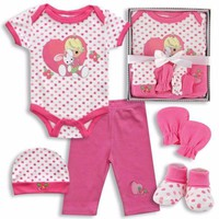 Bunny Precious Moments Baby Girls (Set of 5)